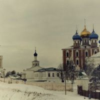 Вид с Кремлевского вала..., Рязань