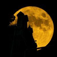 Старейший рязанский хлебозавод в полнолуние / The Oldest Ryazan bakery under the full moon, Рязань