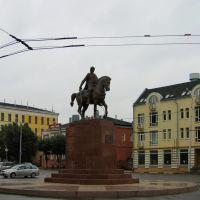 Памятник Олегу Рязанскому, Рязань