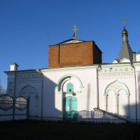 St Nicholas church, Сапожок