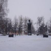Скопин. Памятник Бирюзову., Скопин
