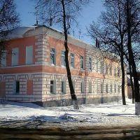 угол Комсомольской и пл. Ленина (мой дом!), Скопин