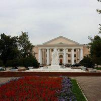 Фонтан и ДВОРЕЦ на пл. Ленина, Скопин