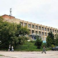 Скопинский ГЛАВПОЧТАМТ ул.Комсомольская, 1, здесь был детский садик, куда ходил исправно через дорогу., Скопин
