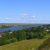 Вид на Оку со Старой Рязани, Спасск-Рязанский