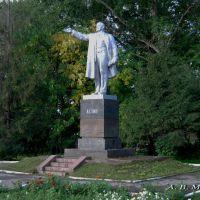 Шацк. Памятник В. И. Ленину/Shatsk. Monument to V. I. Lenin, 31.08.2012, Шацк