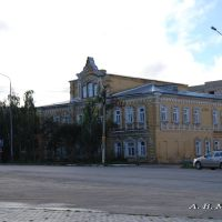 Шацк, ул. Комсомольская, 2, центральная районная библиотека, 31.08.2012 г., Шацк