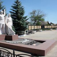 Красный Яр-памятник павшим в ВОВ, Красный Яр