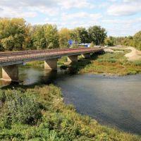 Мост через Сок, Красный Яр
