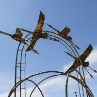 Красноярские журавлики, Красный Яр
