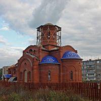 Безенчук-строящийся храм во имя свмщ.Пантелеимона, Безенчук