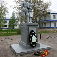 Богатое-памятник медсёстрам ВОВ, Богатое