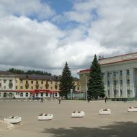 Жигулевск. Площадь Мира, Жигулевск