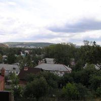 Вид на центр г.Жигулевска, Жигулевск