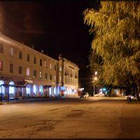 Ул. Мира ночью, Жигулевск