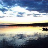 Волга, вид со стороны села Зольное, Зольное