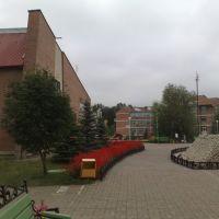 Вид с площади на базе отдыха Стрежень, Зольное