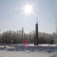 """Памятник """"Первая нефть"""", Нефтегорск"""