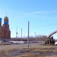 Установка первого светофора, Нефтегорск