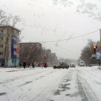 """улица Ленина, 27 """"Б"""" - хлебный перекрёсток, Нефтегорск"""
