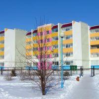 Новые дома, территория НСШ №1, Нефтегорск
