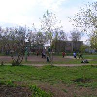 Стадион Нефтегорской средней школы №2, Нефтегорск