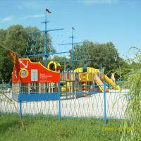 """Детская игровая площадка в парке """"Дубки"""", Новокуйбышевск"""
