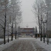 Площадь Менделеева, Новокуйбышевск