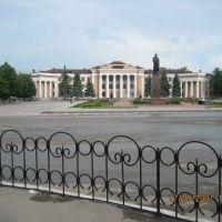 Площадь В.И. Ленина, Новокуйбышевск