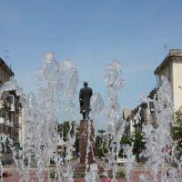 Ленин в фонтане, Новокуйбышевск