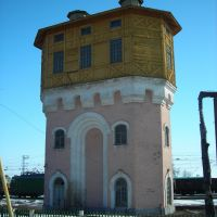 Самарская область, ст. Октябрьск, водонапорная башня, Октябрьск