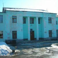 Самарская область, г. Октябрьск, здание, в котором в 1942-1944 годах размещался штаб 767 зенитно-артиллерийского полка, Октябрьск