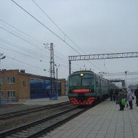 Электропоезд на г.Самару, Отрадный