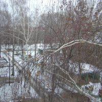 Вид из окна на Ул.Отрадной 10, Отрадный