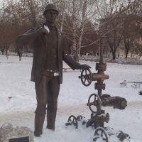 Памятник нефтяникам в г.Отрадный, Отрадный