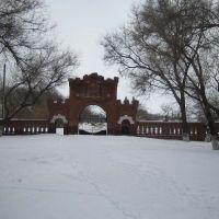 Ворота усадьбы Самариных, Приволжье