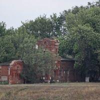 Приволжье-руины усадьбы Самариных, Приволжье