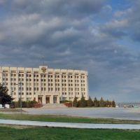 Площадь Славы, здание администрации Самарской области, Самара