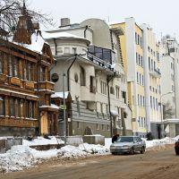 Разные стили. Улица Фрунзе в Самаре, Самара