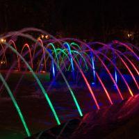 Разноцветные струи., Самара