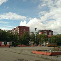 Центр, у драматического театра, Сызрань