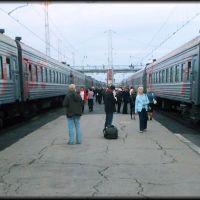 На платформе Сызранского вокзала, Сызрань