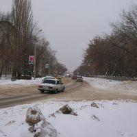 Комсомольская зимой, Тольятти