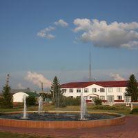 Хворостянка-фонтан на площади, Хворостянка