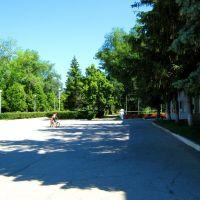 Площадь перед Дворцом культуры им. Чапаева, Чапаевск