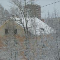вид из окна Гатчинская 18а, Коммунар