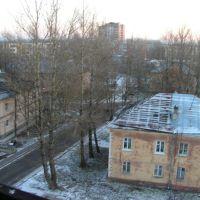 вид из окна дома 26 по улице Гатчинской, Коммунар