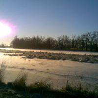 Ижора зимой, Коммунар