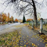 Пикалёво, площадь, окт. 2013 г., Пикалёво