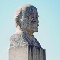 Голова вождя.Der Kopf des Führers der russischen Kommunisten, Пикалёво
